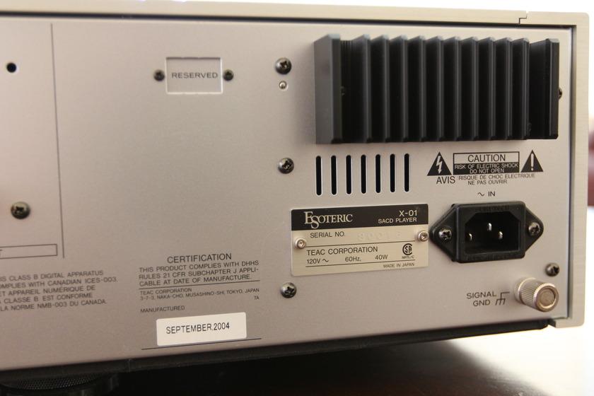 Esoteric X 01 Limited  SACD/CD player