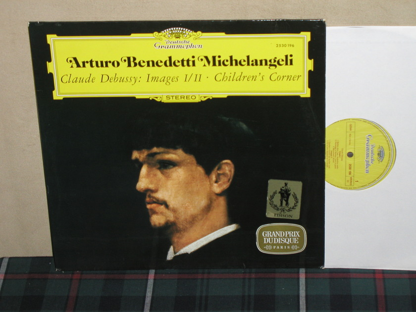Michelangeli  Debussy - Images/Childrens Corner DG German import LP