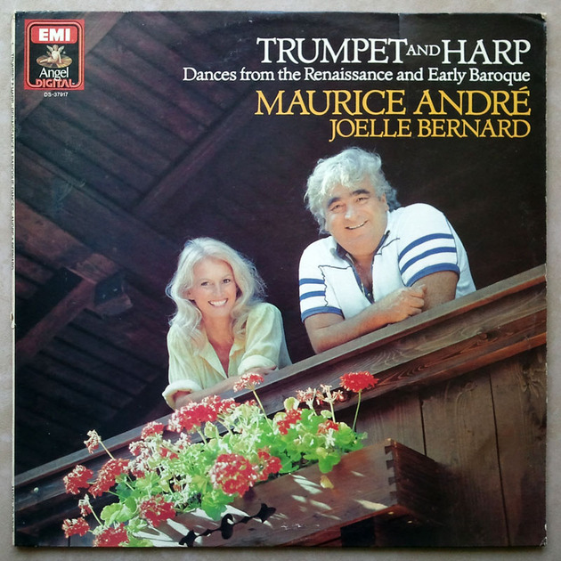 EMI DIGITAL | ANDRE & BERNARD / - Trumpet and Harp / NM