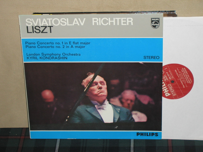 Richter/Kondrashin/LSO - Liszt Cto 1/2 Philips Import pressing 835 LY