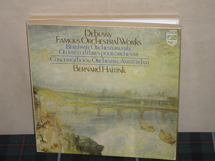 Haitink/COA    Debussy - Famous Orchestral Works Philips Import LP 6570