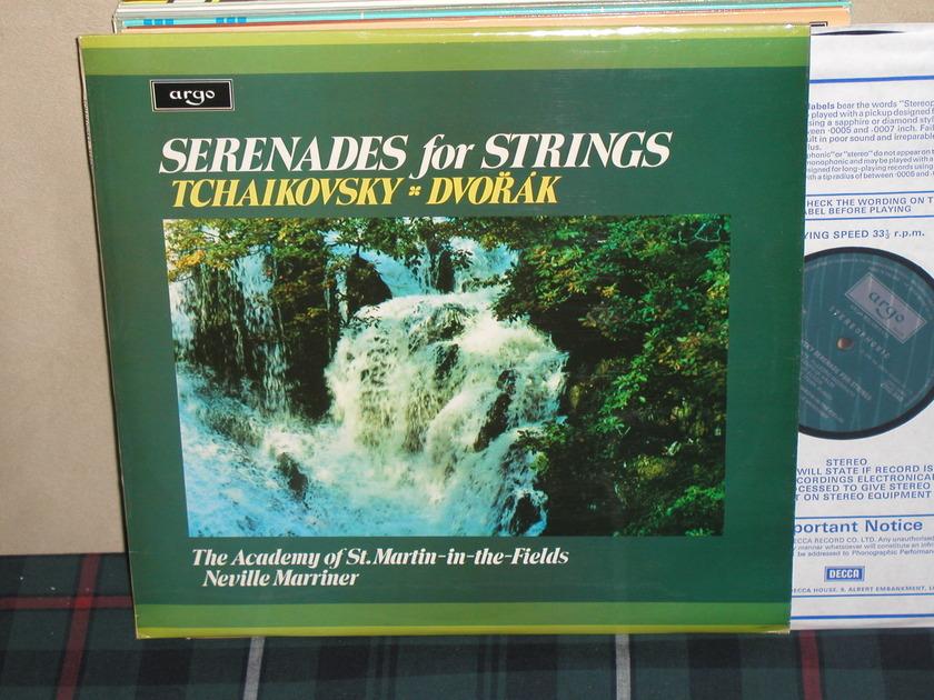 Marriner/AoStMitF - Tchaikovsky Serenade For Strings UK Argo/Decca ZRG-848