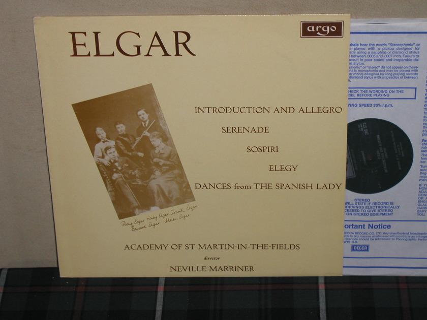 Marriner/AoStMitF - Elgar Introduction And Allegro UK Argo/Decca ZRG-573