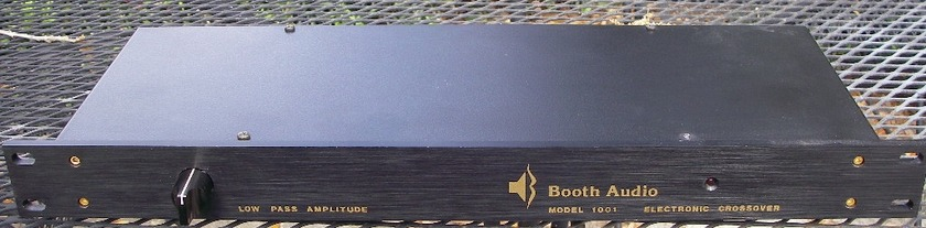 Booth Audio  Model 1001 Active Electronic Crossover