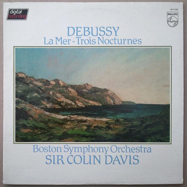 PHILIPS Digital   DAVIS/DEBUSSY - La Mer, Trois Nocturnes / NM