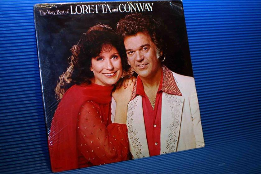 """LORETTA LYNN/CONWAY TWITTY -  - """"The Very Best Of Loretta & Conway - MCA 1979 Sealed"""