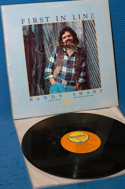 """RANDY SHARP -  - """"First In Line"""" -  -Nautilus Direct to Disk nr-1"""