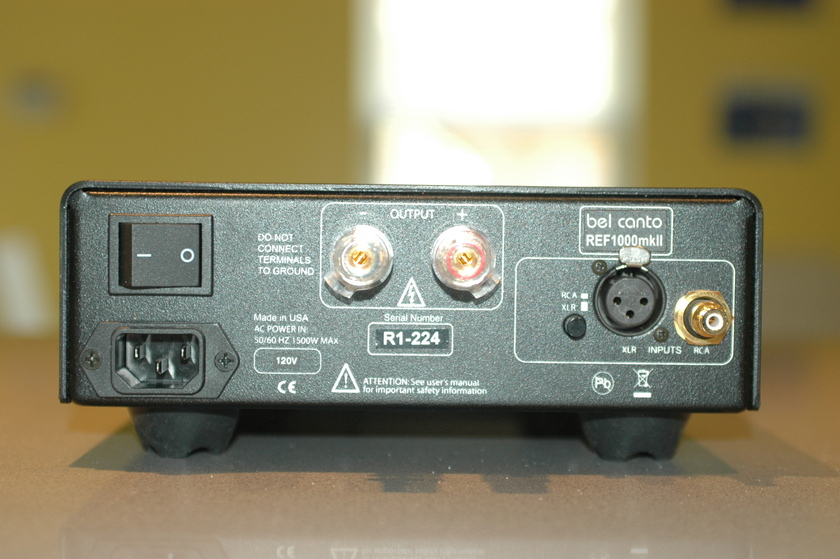 Bel Canto Ref 1000 MKII single amp