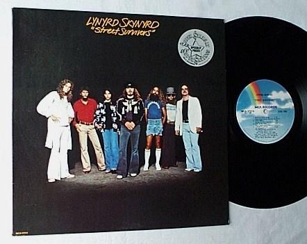 Lynyrd Skynyrd LP-Street Survivors- - superb 1977 Southern rock blues album