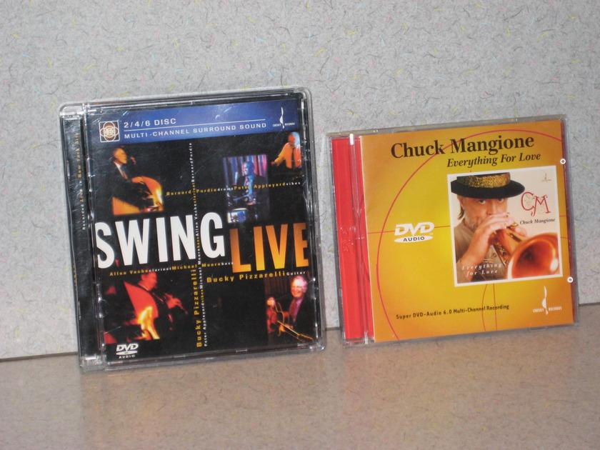 "Chesky Audiophile - DVD-Audio Discs ""Rare & Great Sounding"""