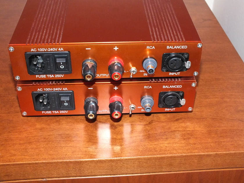NuForce P-9 Pre Amplifier P-9 Rose Colored Case