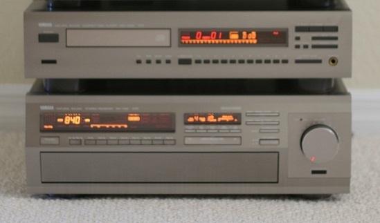 Yamaha rx-1130 & cdx-1030 yamaha receiver & cd