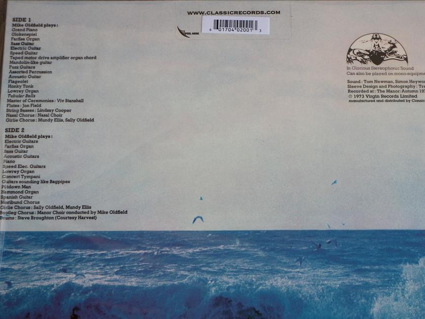 Mike Oldfield - Tubular Bells Classic Records Quiex SV-P 200g vinyl LP [Sealed]