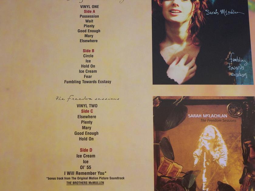 Sarah McLachlan - Fumbling Towards Ecstasy  Classic Records Quiex SV-P 2x200g vinyl sealed