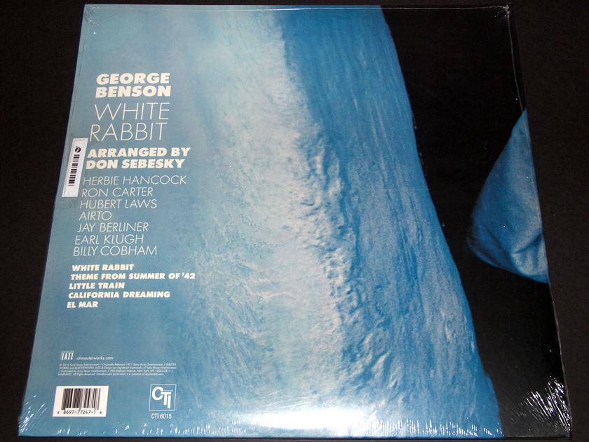 George Benson - White Rabbit     CTi Records 40th Anniversary Edition 180g vinyl mastered from the original analog tapes