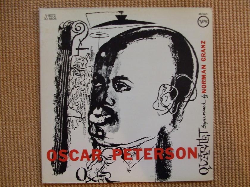Oscar Peterson - Quartet Verve V-8072 Mono