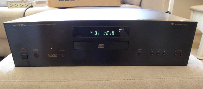 ROTEL RCD991AE HDCD PLAYER AUDIOPHILE EDITION