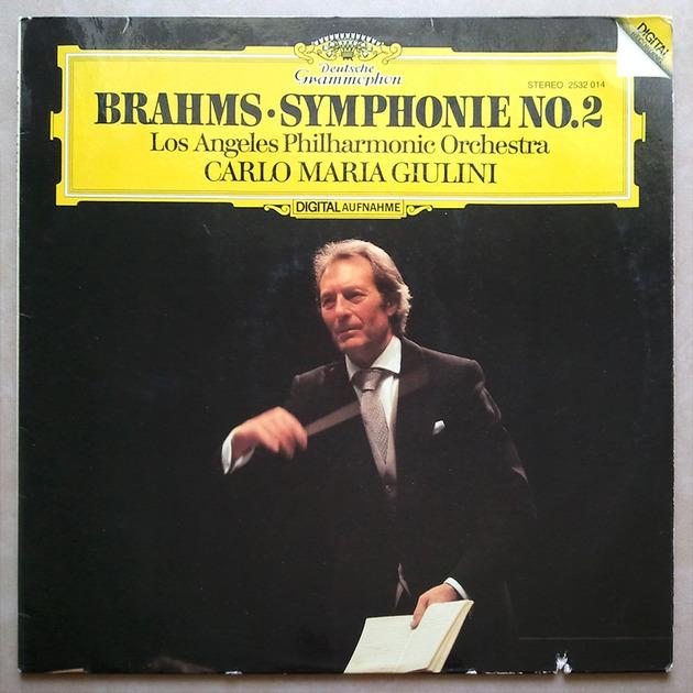 DG Digital   GIULINI/BRAHMS - Symphony No. 2 / NM