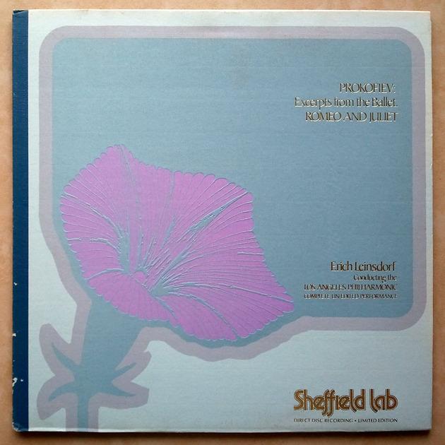 SHEFFIELD LAB | LEINSDORF/PROKOFIEV - Romeo & Juliet / Audiophile / NM