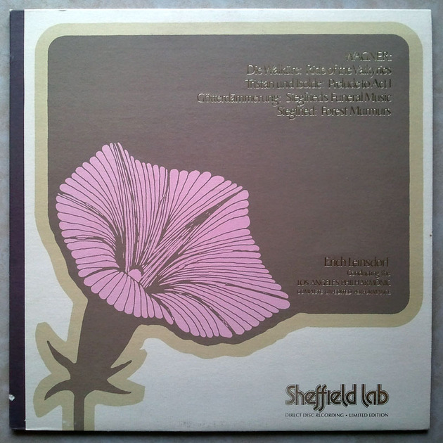 SHEFFIELD LAB | LEINSDORF/WAGNER - Excerpts From The Ring / AUDIOPHILE / NM