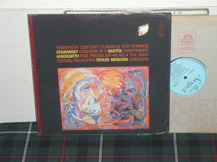 Menuhin/TBFO - Stravinsky Cto. in D Angel blue/silver 36335 STEREO