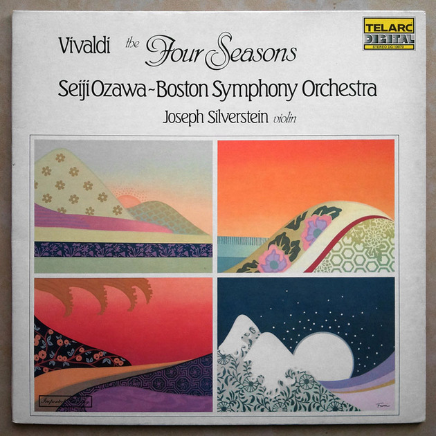 Audiophile TELARC | OZAWA/VIVALDI - The Four Seasons / NM
