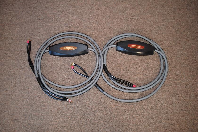 Transparent MWU15 MM1 Speaker Cables