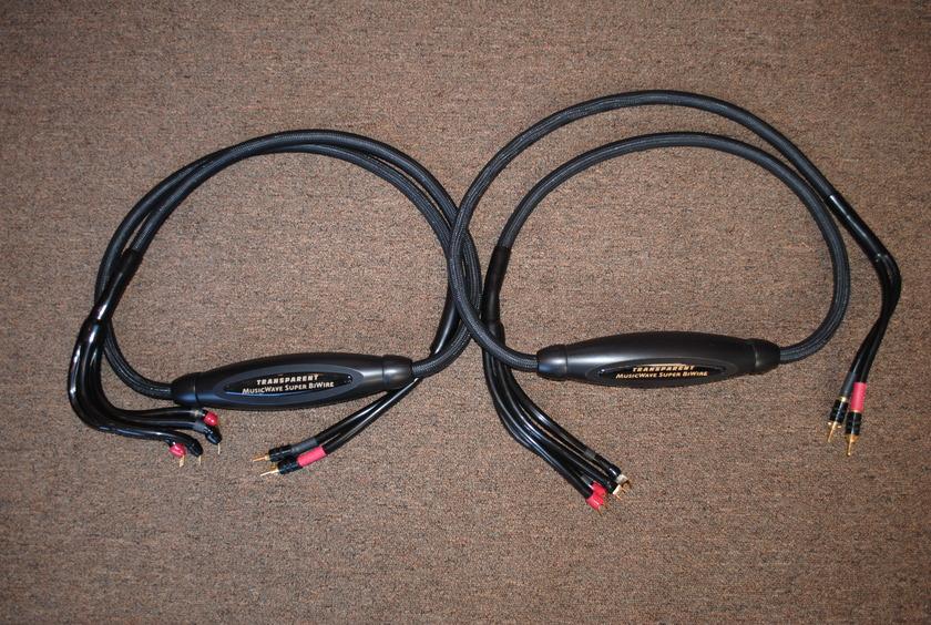Transparent MWSBW8 MM1 Technology Speaker Cables