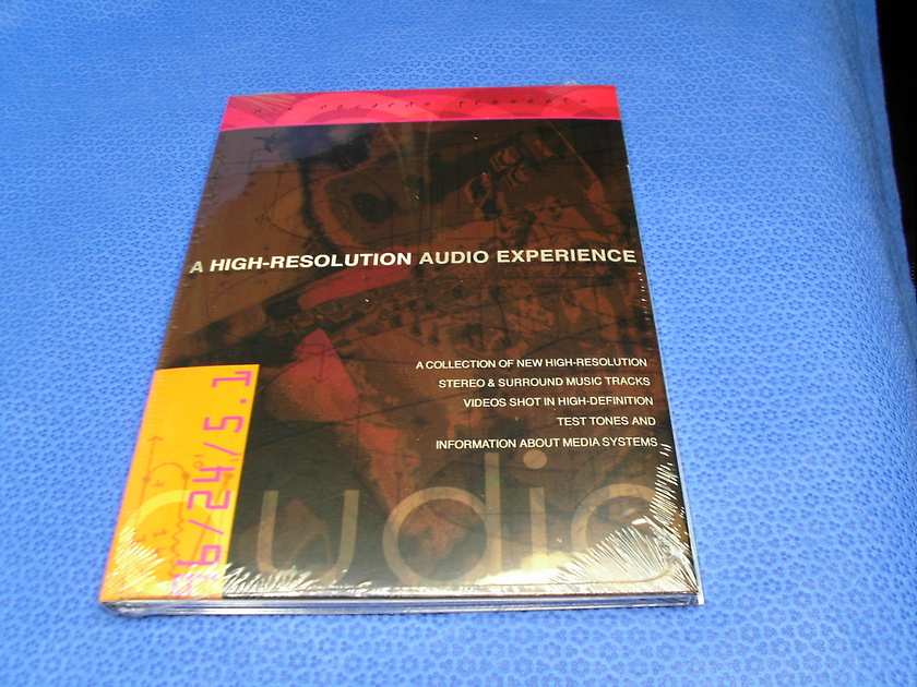 Aix Records 5.1 DVD Audio 96/24 CD Surround Sound  - Test Tones 96 KHz 24 Bit Stereo Dolby Digital DTS English 83 minuts Total