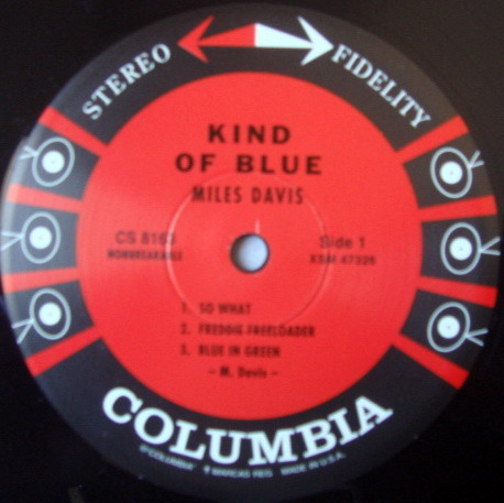 ★Audiophile 180g★ Columbia-Classic Records / MILES DAVIS, - Kind of Blue, 2001 Quiex SV Re-Issue, MINT(OOP)!