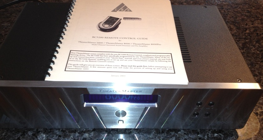 EAD Theatermaster 8000 Silver in excellent condition Cheap