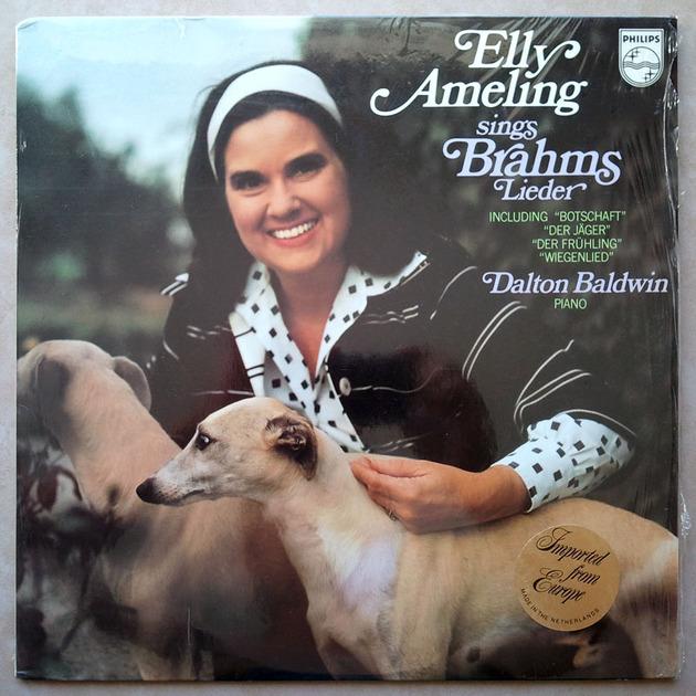 PHILIPS | ELLY AMELING/BRAHMS - Lieder / NM