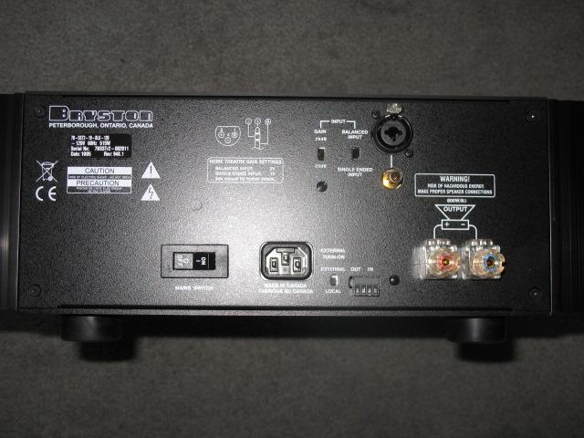 Bryston  7BSST2 Power Amplifiers-Black