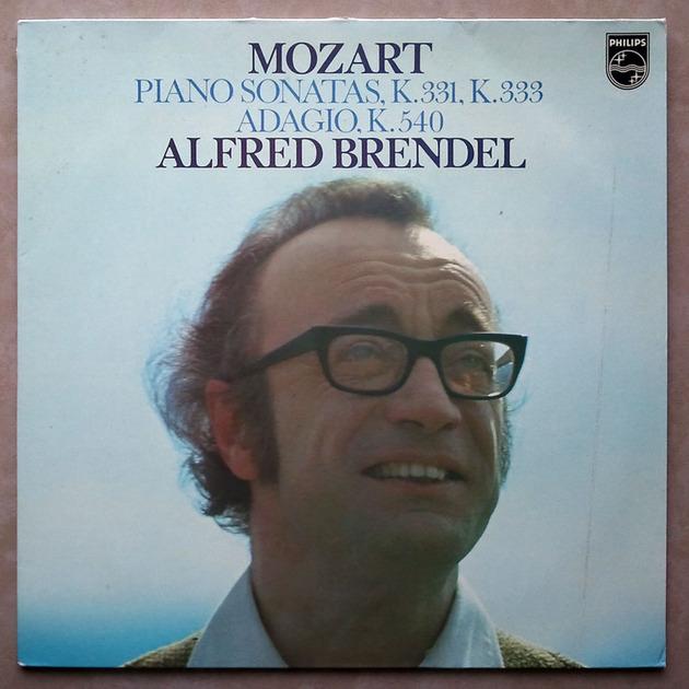 PHILIPS | BRENDEL/MOZART - Piano Sonatas K. 331, K. 333, Adagio K. 540 / NM