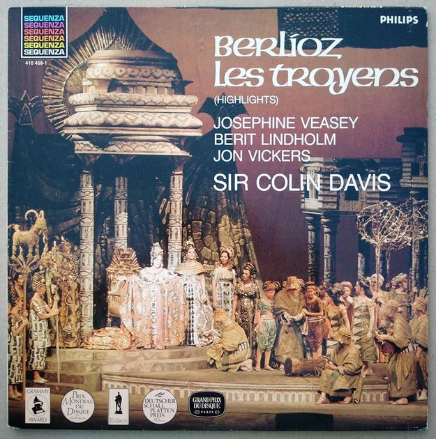PHILIPS   DAVIS/BERLIOZ - Les Troyens (The Trojans) / NM