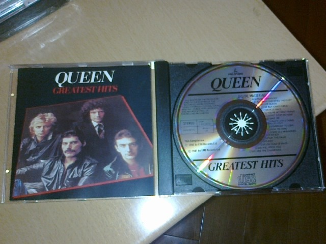 Queen -  - Greatest Hits  (Early UK edition, no IFPI)