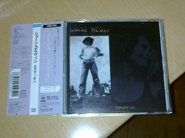 Shawn Colvin -  - Steady On  (Japan Promo Sample 1st edition)