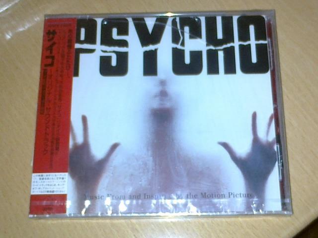OST Soundtrack -  - Psycho (Japan Promo Sample, 1st edition, new)