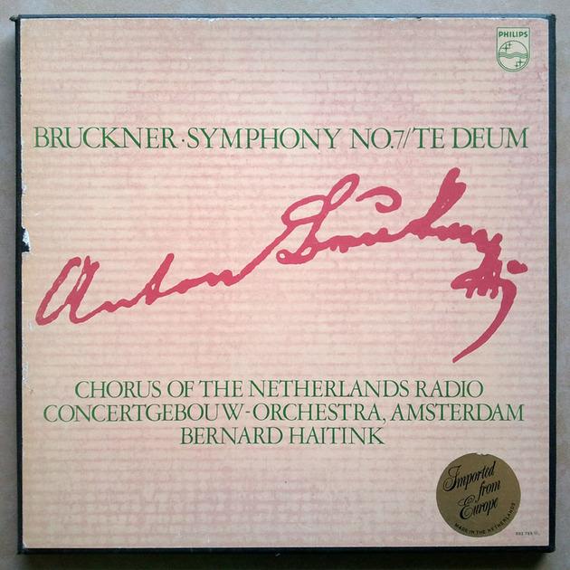 PHILIPS | HAITINK/BRUCKNER - Symphony No. 8, Te Deum / 2-LP / NM