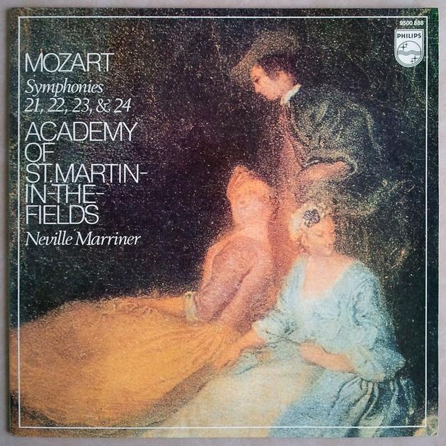 PHILIPS | MARRINER/MOZART - Symphonies Nos. 21, 22, 23, 24 / NM