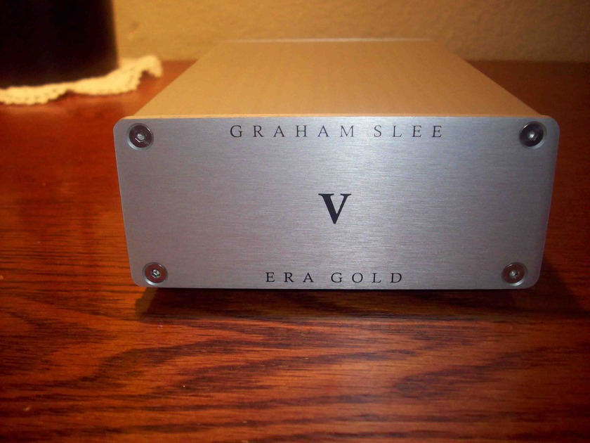 Graham Slee Era Gold V Phono Preamplifier + Power Supply