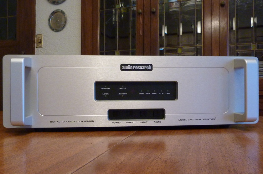 Audio Research DAC7 Silver