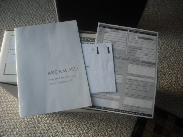 ARCAM Power Amp FMJ P35 2 or 3 channel