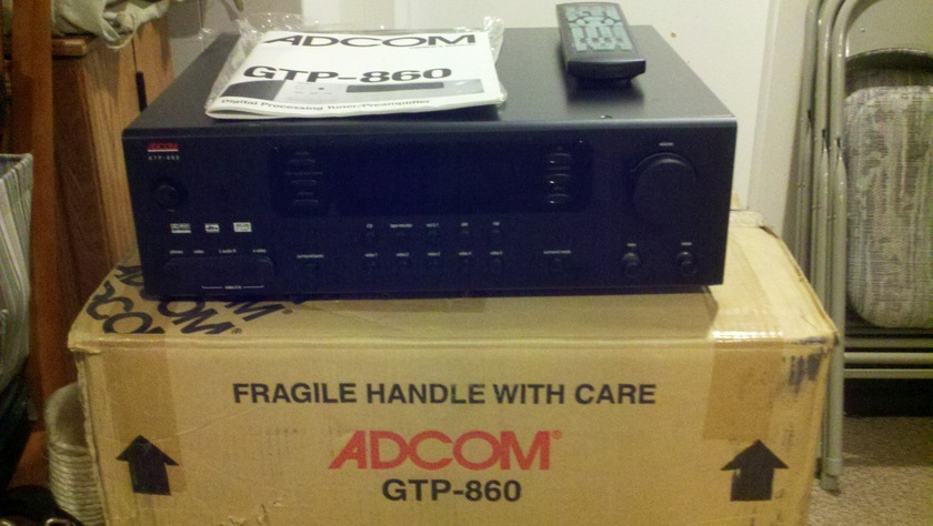 Adcom GTP-860   Preamplifier Preamp