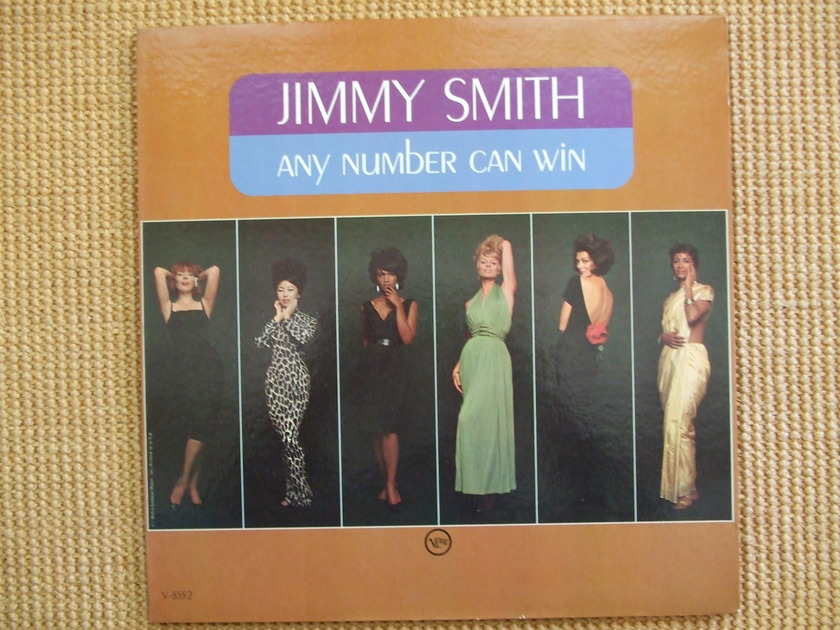 Jimmy Smith - Verve V-8552 Any Number Can Win