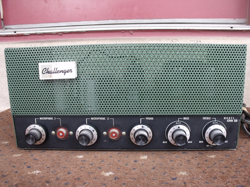 CHALLENGER CHA-33 HI-FI MONOPHONIC 6L6 TUBE AMPLIFIER