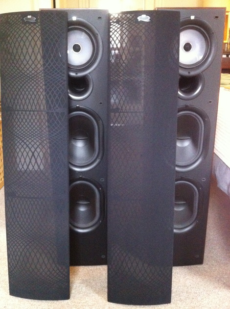 KEF Q75 Speakers in Excellent Condition (Delivery In/Near NYC)