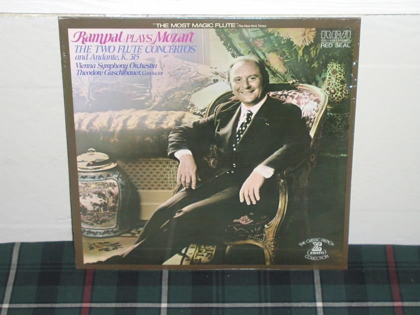 Guschlbauer/VSO - Rampal /Mozart RCA/Erato Sealed/NEW