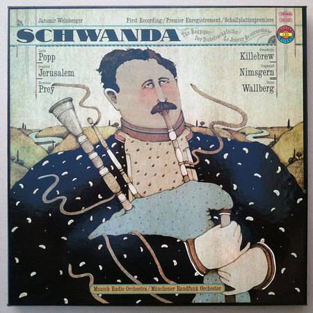 German CBS | WALLBERG/WEINBERGER - Schwanda the Bagpiper / NM