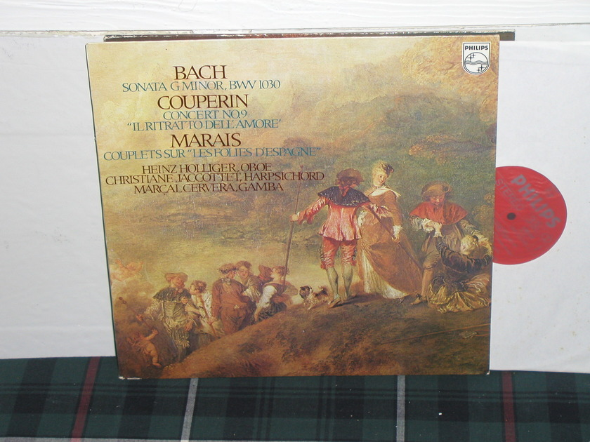 Holliger/Gamba - Bach/Couperin Philips Import pressing 6500